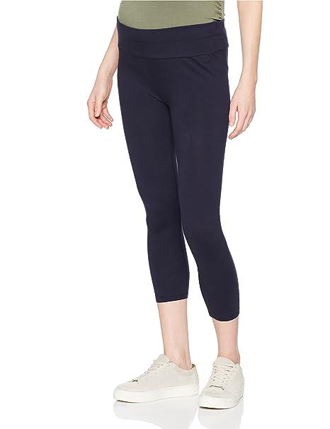 Esprit Legging UTB 7/8, Leggings Premamá para Mujer, Azul (Night Blue 486), 38(Talla del Fabricante: S/M)