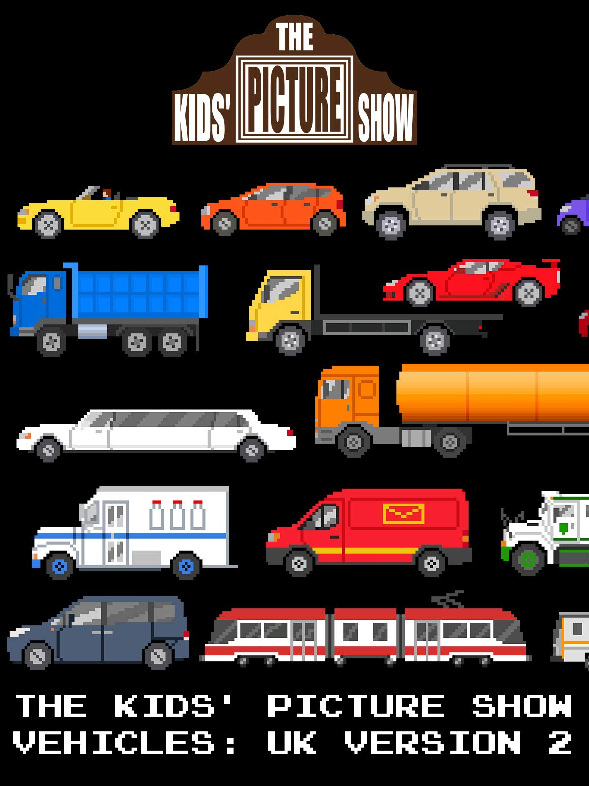 The Kids' Picture Show - Vehicles: UK Version 2