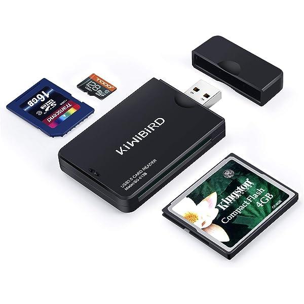 KiWiBiRD USB 3.0 (3.1 Gen 1) Lector Tarjetas de Alta ...