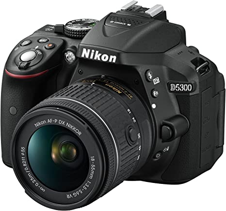 Nikon D5300 18-55/3.5-5.6 AF-P G DX VR - Cámara Digital: Amazon.es ...