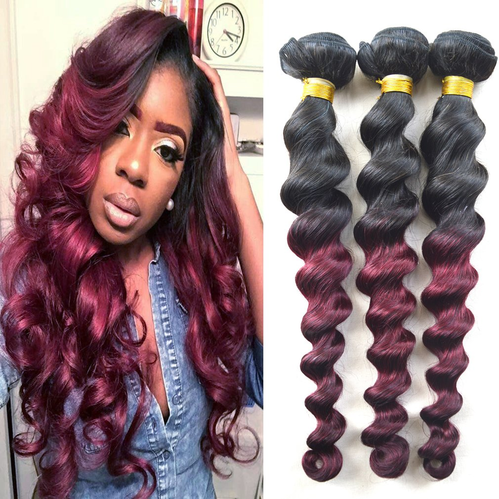 Amazon Babe Hair 18 20 22 Full Head Loose Curly Wave