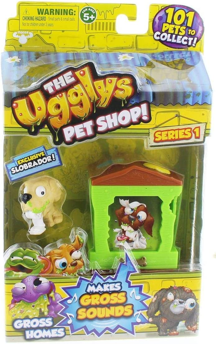 The Ugglys Pet Shop!, Series 1 Gross Homes, Doggy Dump with Exclusive Slobrador