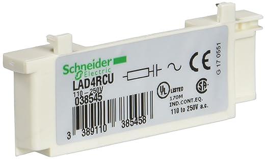 Circuito Rc : Schneider electric lad4rcu tesys d módulos de antiparasitado