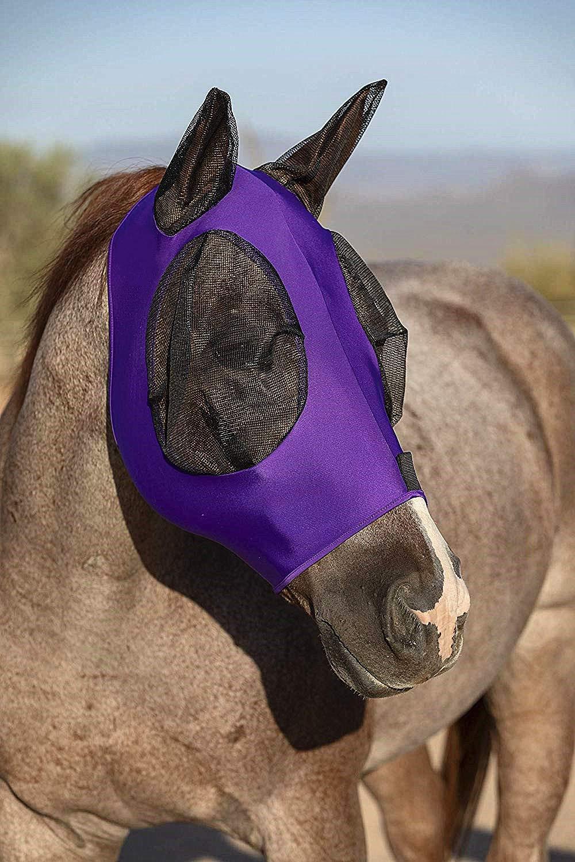 ciraume M/áscara antirayos UV con protecci/ón para Caballos y Ponis