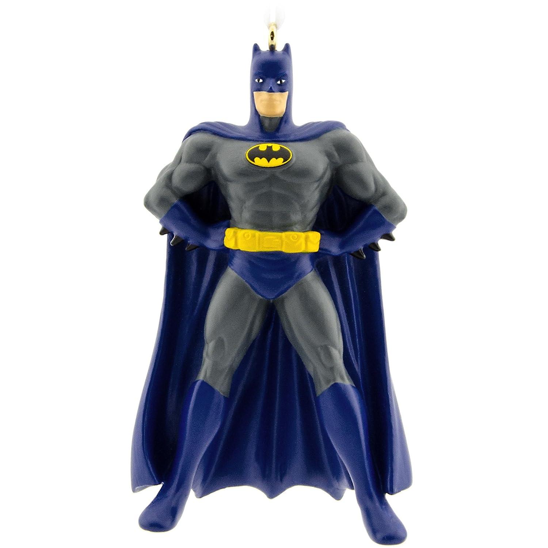 Batman christmas tree ornaments - Amazon Com Hallmark Dc Comics Batman Christmas Ornament Home Kitchen