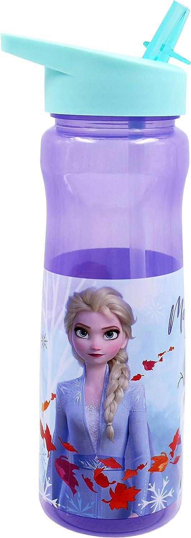 Disney - Botella de plástico (Polipropileno, 600 ml), Multicolor