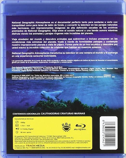 Atmospheres, tierra, aire, agua [BR] [Blu-ray]: Amazon.es: Varios: Cine y Series TV