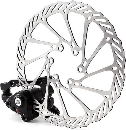 1 Pair 160mm Mountain MTB Bike Bicycle Mechanical Disc Brake Rotor Kit For G3