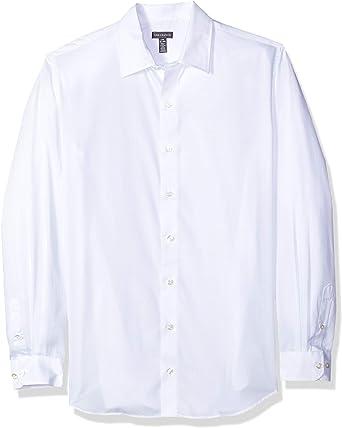 Van Heusen Mens Slim Fit Flex Long Sleeve Button Down Stretch Print Shirt