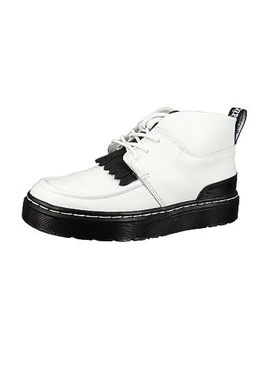 6dc23625ab6313 Dr. Martens Vibe Jemima 23495101 Damen White Black Temperley Weiß Schwarz  Chukka Boot