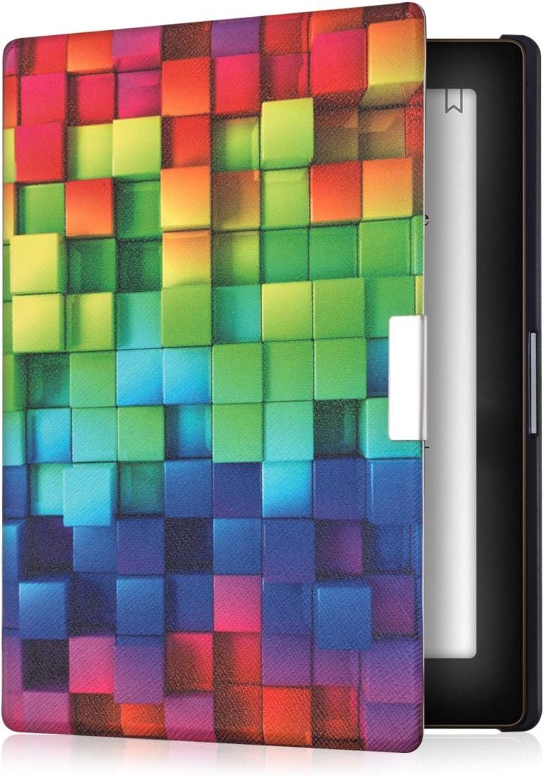 kwmobile Funda Compatible con Kobo Aura Edition 1 - para eReader - Cubos Colores: Amazon.es: Informática