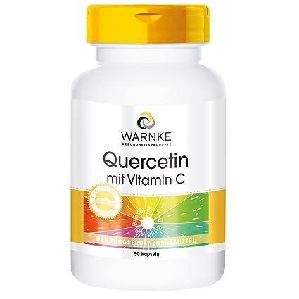 Quercetina con vitamina C – 60 cápsulas – Warnke Vitalstoffe