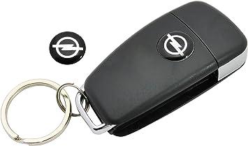 FBFG10PCS 14mm Remote Key Emblem Logo Aufkleber f/ür Opel Astra HG Corsa Insignien Astra Antara Meriva Zafira Innendekoration Aufkleber