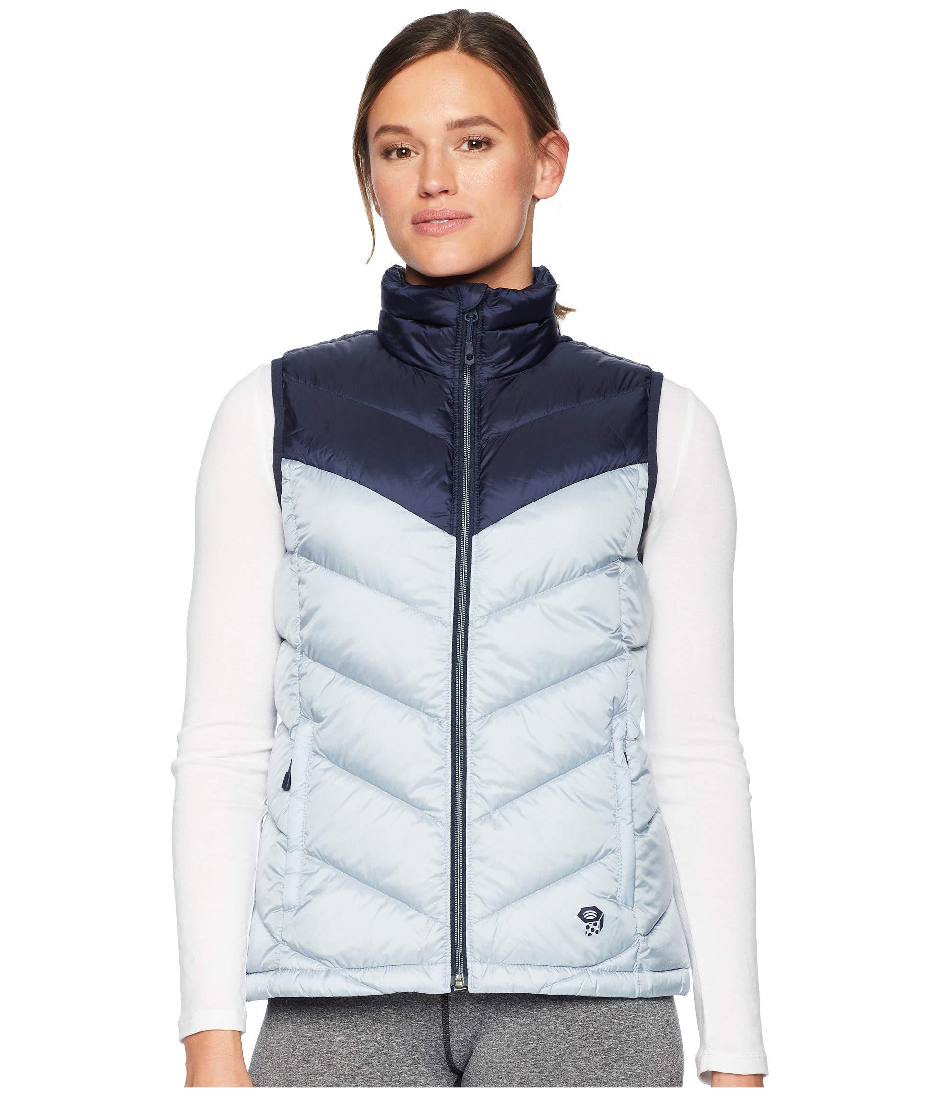 Mountain Hardwear Women's Ratio Insulated Down Water-Resistant Puffer Vest by Mountain Hardwear