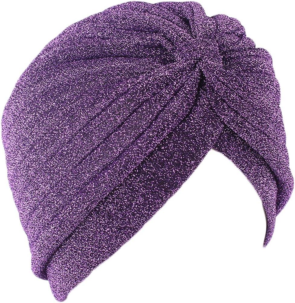 Home-organizer Tech Glister Twist Turban Elastic Hair wrap Boho Chic Hippie Stretchy Soft Headband