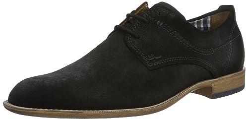 Fretz Men Tosco, Zapatos de Cordones Derby para Hombre, Braun (Cavallo), 50 EU Fretz Men