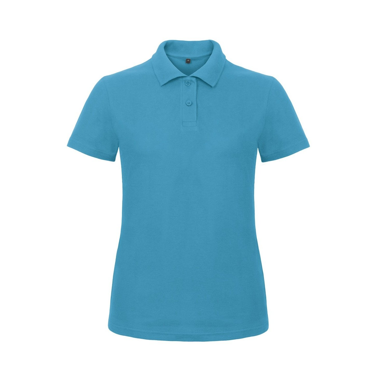 B and C B&C Womens/Ladies ID.001 Plain Short Sleeve Polo Shirt at Amazon  Women's Clothing store: