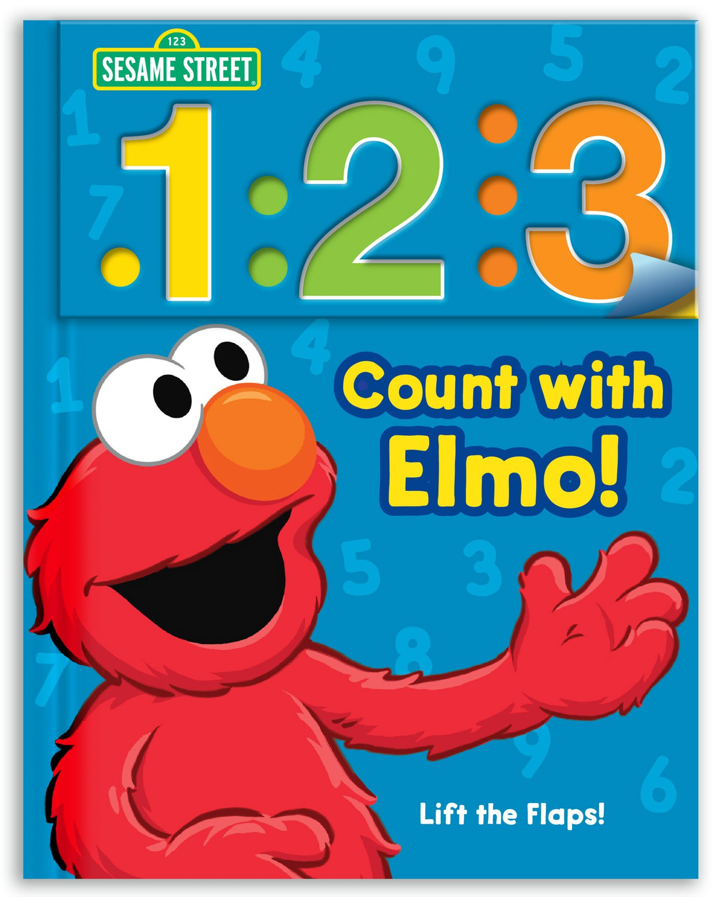 Amazon Com Sesame Street 1 2 3 Count With Elmo A Look Lift