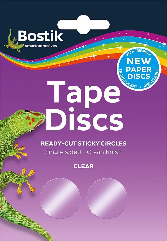 4 x Bostik Bostick Blu Tack Sticky Tape Circles Discs 120 per pack 805941 new