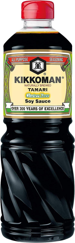 Salsa de soja Tamari KIKKOMAN (1 litro)