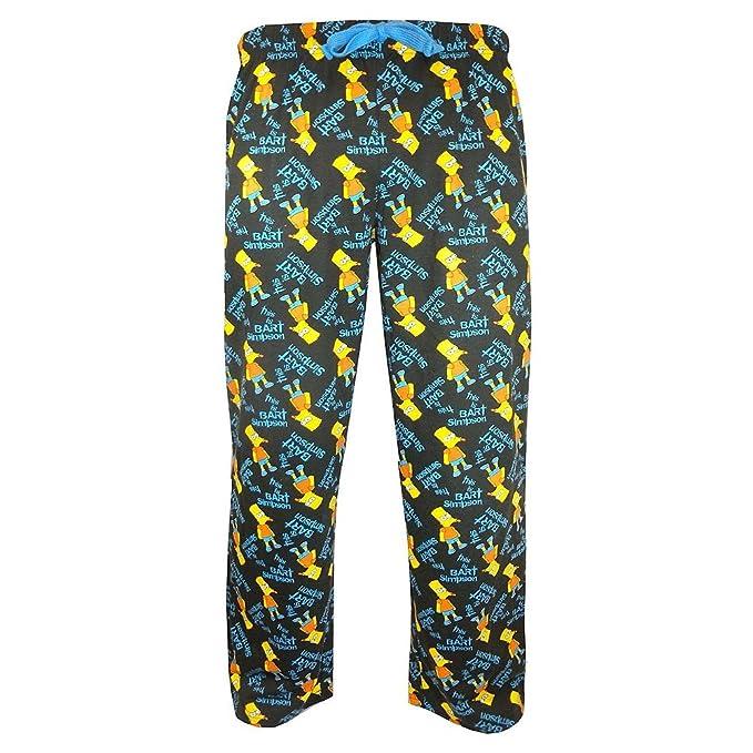 U Wear LTD - Pantalón de pijama - para hombre Bart Simpson extra-large