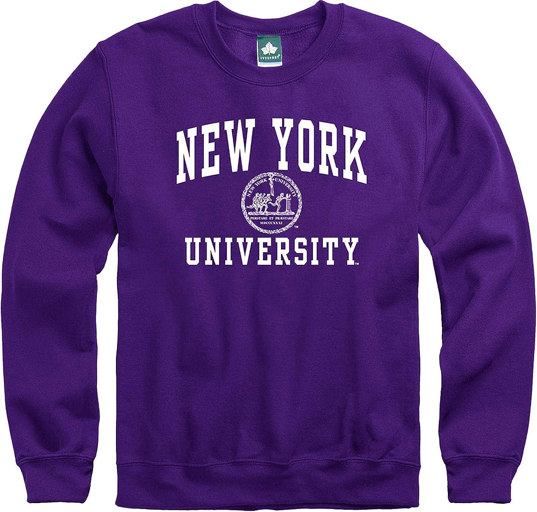 Ivysport Crewneck Sweatshirt for College, Heritage Logo, Color, Adult Unisex