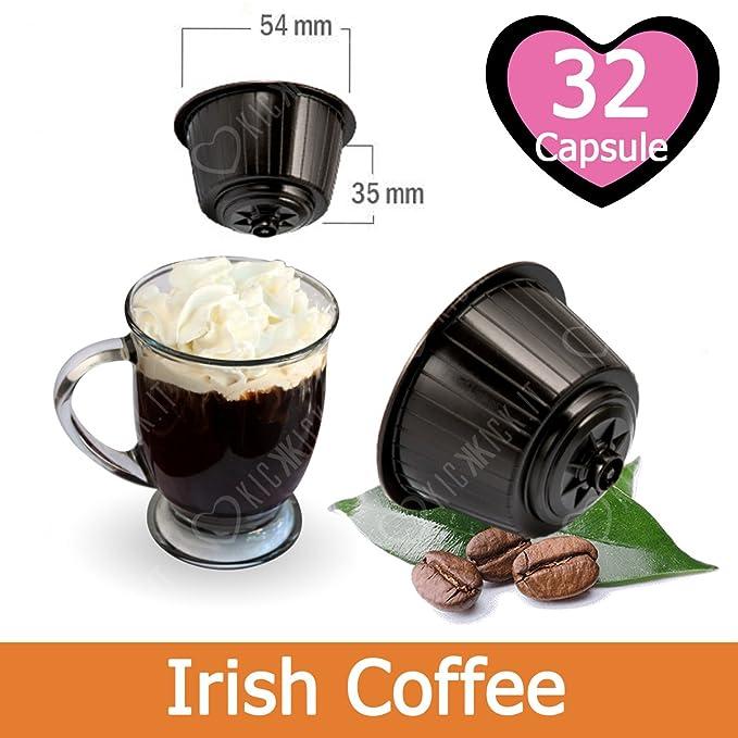 32 Capsulas Irish Coffee Compatibles Nescafè Dolce Gusto - Café Kickkick