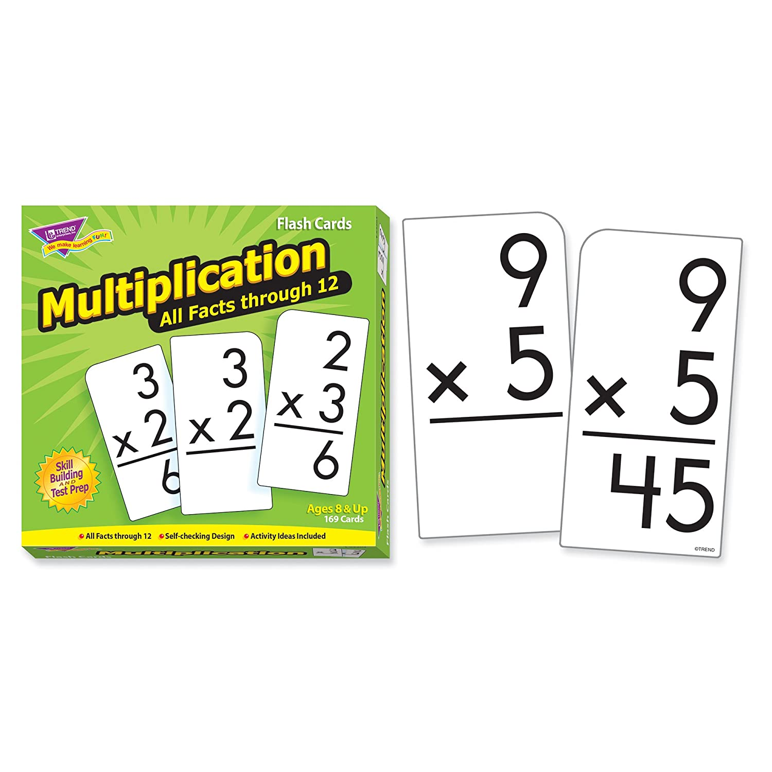 Worksheet Free Printable Multiplication Flash Cards 0-12 amazon com trend enterprises multiplication 0 12 flash cards all facts toys games