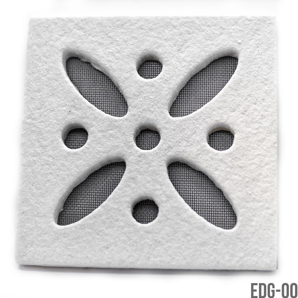 EDG-04 Griglia decorativa quadrata per aerazione da esterno
