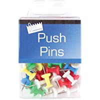 Just Stationery Hanging Box Push Pin (Pack of 50)