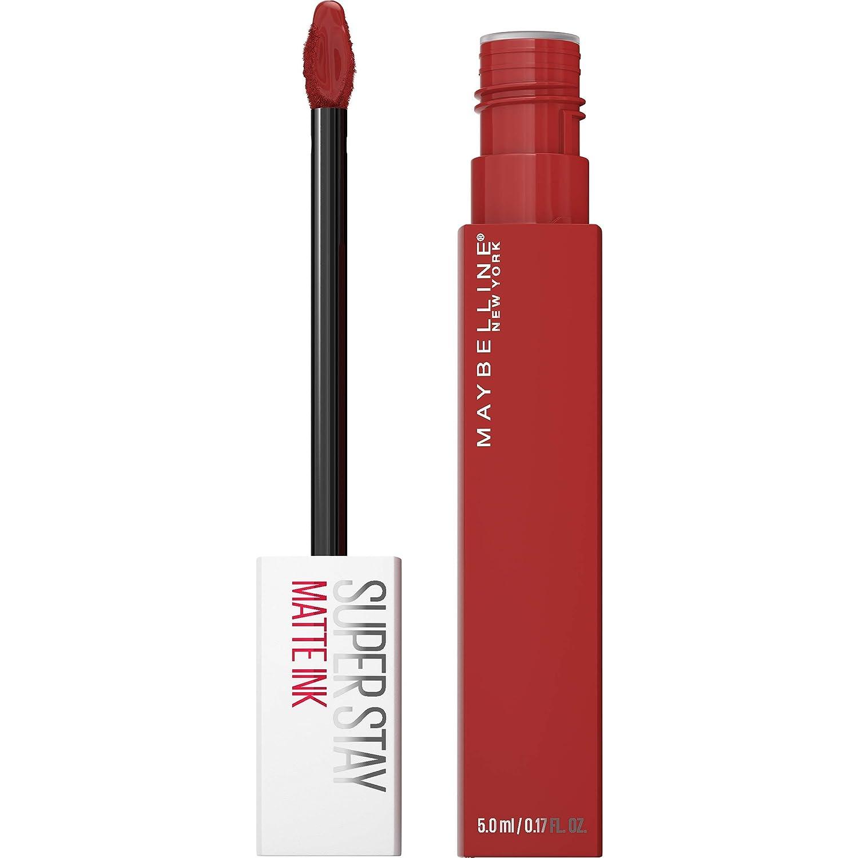 Maybelline New York SuperStay Matte Ink Liquid Lipstick, 335 Hustler, 0.17 Ounce