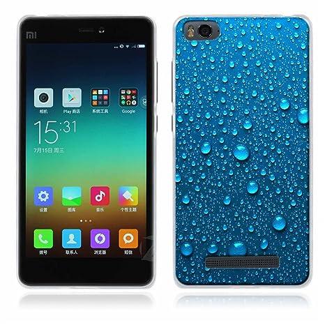 FUBAODA Xiaomi mi4c/mi4i Funda Serie de la Pintura,[Música] Fina,Resistente a los arañazos en su Parte Trasera,Amortigua los Golpes,Funda Protectora ...