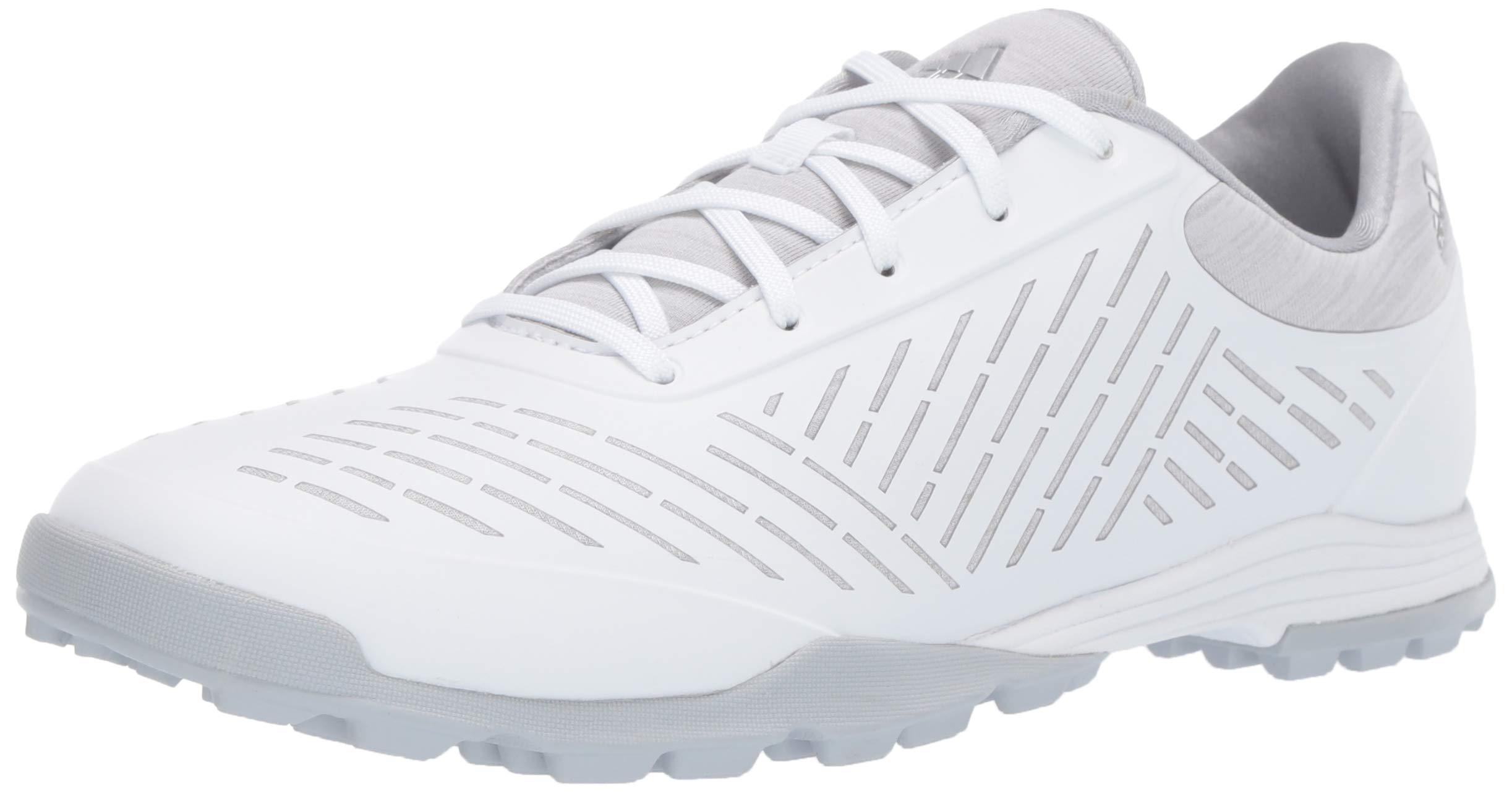 adidas Womens Adipure Sport 2 Golf Shoe, FTWR White/Clear Onix/Silver Metallic 7 M US by adidas