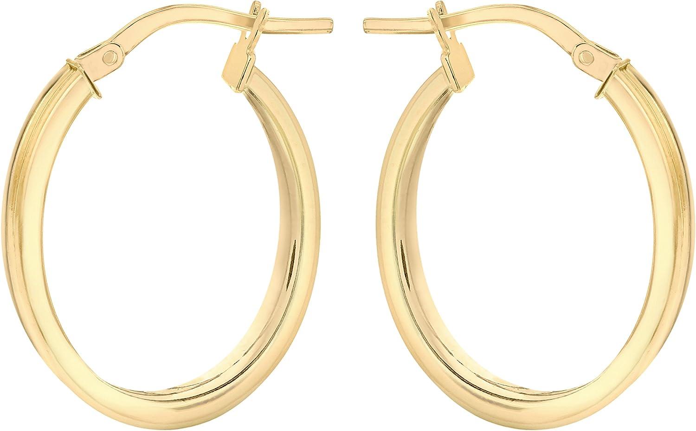 375 Carissima Gold Damen Rundschliff Diamant 1.53.2119 Ohrringe 9 k