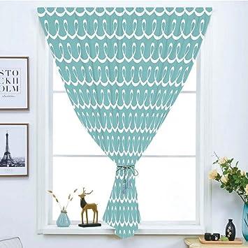Verdunkelungsvorhang Gratis Stanz Magic Aufkleber Fenster Vorhang, Türkis,  Eastern Oriental Muster Von Mandala Traditionellen