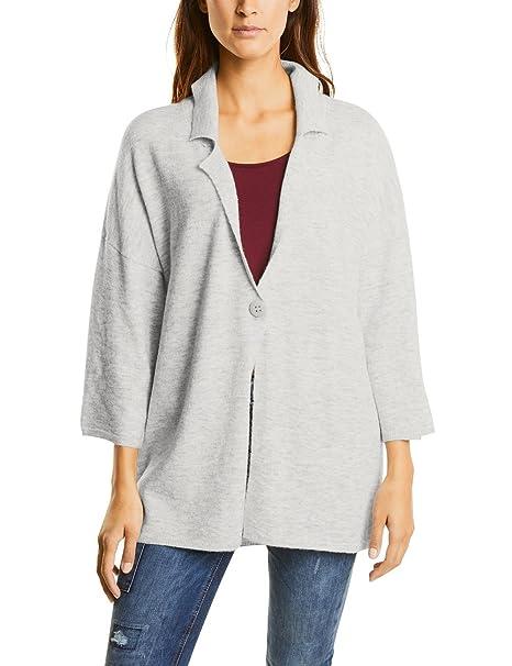 Street One Oversized Knit Blazer, Chaqueta Punto para Mujer ...