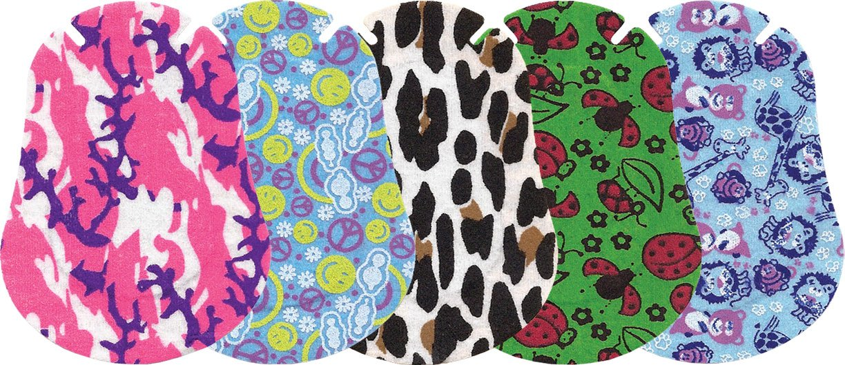 Ortopad Girls Eye Patches - Junior Size (50 Per Box) by Ortopad