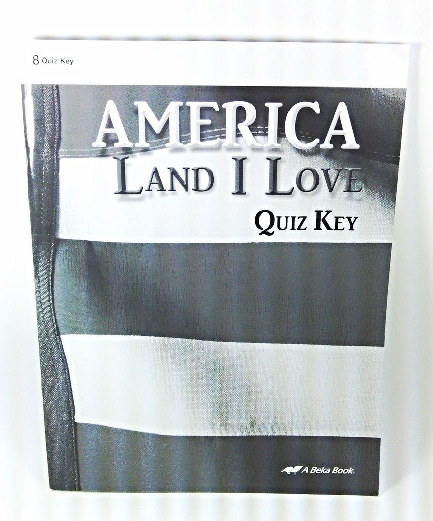 Read Online America Land I Love (Quiz Key) pdf epub