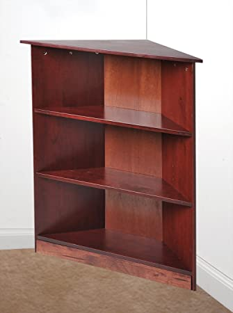 Gift Mark Corner Unit Bookcase Cherry 36quot