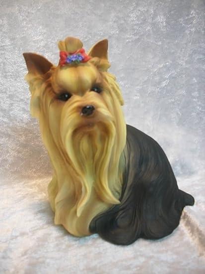 Yorkshire Terrier 16 cm perro lobo de peluche personaje jardín decoración afinador 156 F