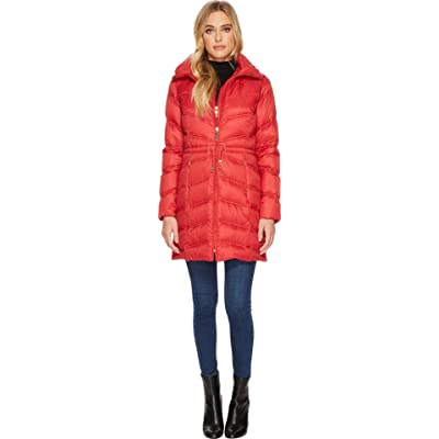 Ellen Tracy Womens Packable Down Jacket