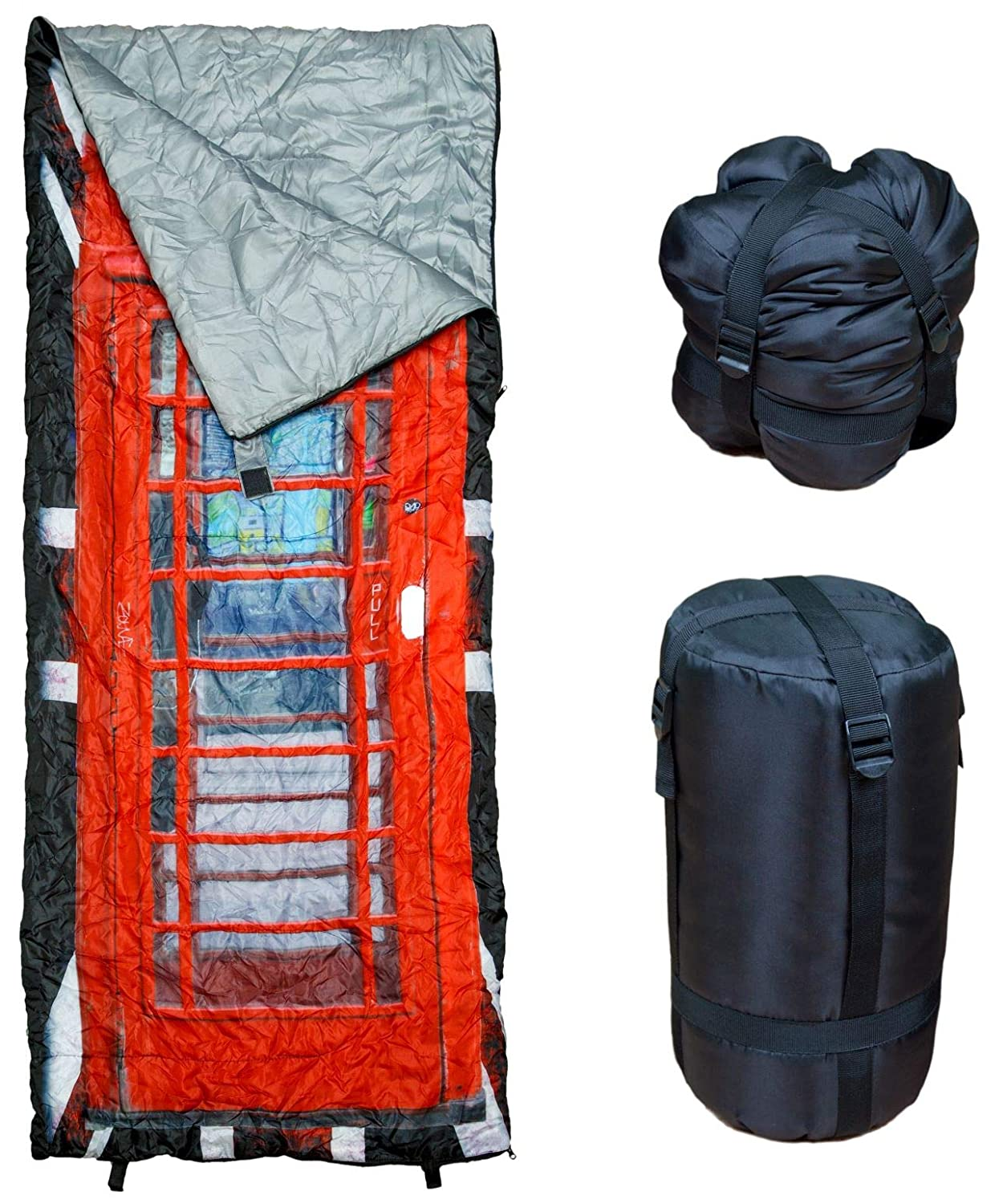 Great for Kids Ultra Light and Compact Bags are Perfect for Hiking Phonebooth REVALCAMP Lightweight Sleeping Bag Backpacking Teens /& Adults Camping /& Travel. Indoor /& Outdoor use