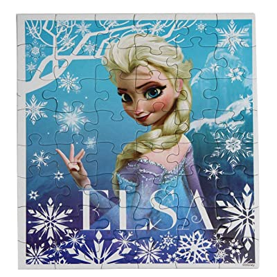 Disney Frozen Elsa Boxed Puzzle-48 pieces (1 box): Toys & Games [5Bkhe1103575]
