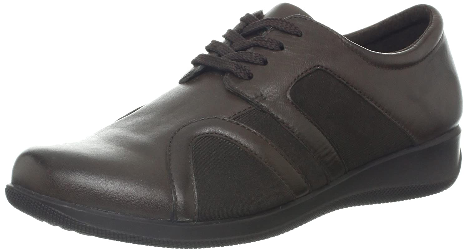 SoftWalk Women's Topeka Flat B00BFYQJAK 5 B(M) US|Dark Brown