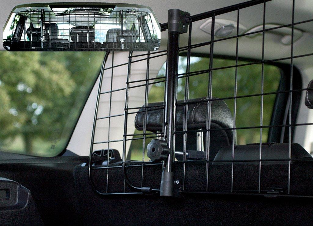 RHINO AUTO Rhino Automotive© Headrest Travel Mesh Grill Pet Safety Adjustable Barrier RW1083 RHINO AUTOMOTIVIE