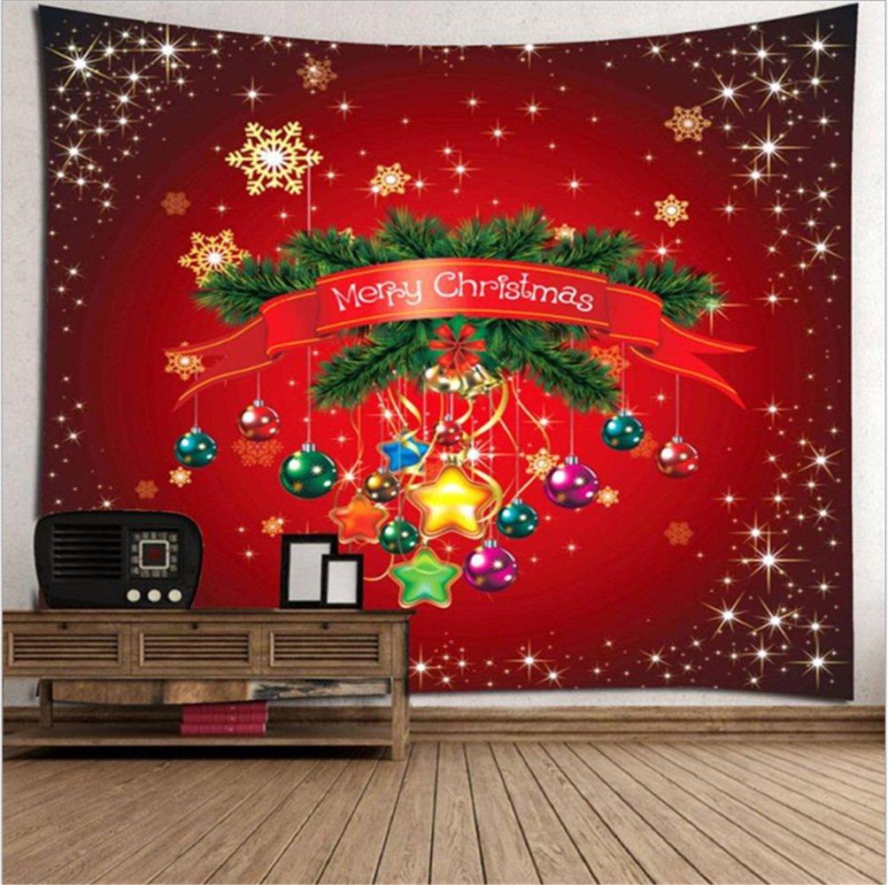 Buon Natale / Arazzi Coperta di natale Coperta di stampa Decorazione di interni per la casa Decorazione di camera per bambini Decorazione di festa di festa di Natale Stuoie di picnic di Natale ( Dimensione : 200x180(cm) ) WSZYD