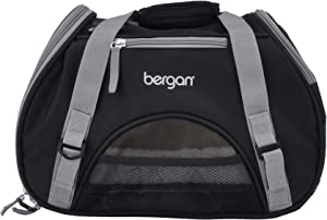Bergan Comfort Carrier for Pets, Brown and Black, Small 16