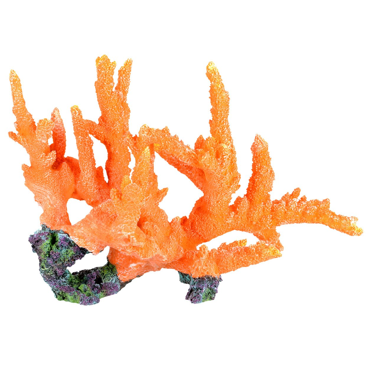 Underwater Treasures Branch Coral - Orange Show by Underwater Treasures