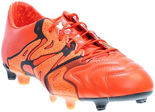 new style 61b08 04ca5 adidas X 15.1 FG AG Leather - SOLAR ORANGE CORE BLACK BOLD ORANGE