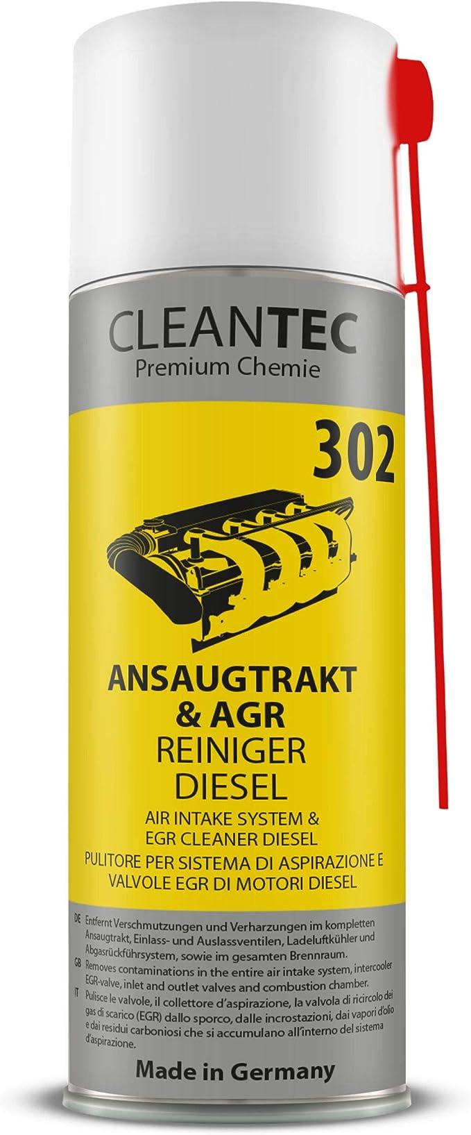 Cleantec 302 Diesel Ansaugtrakt Ansaug System Agr Egr Turbo Reiniger Spray 400ml Auto